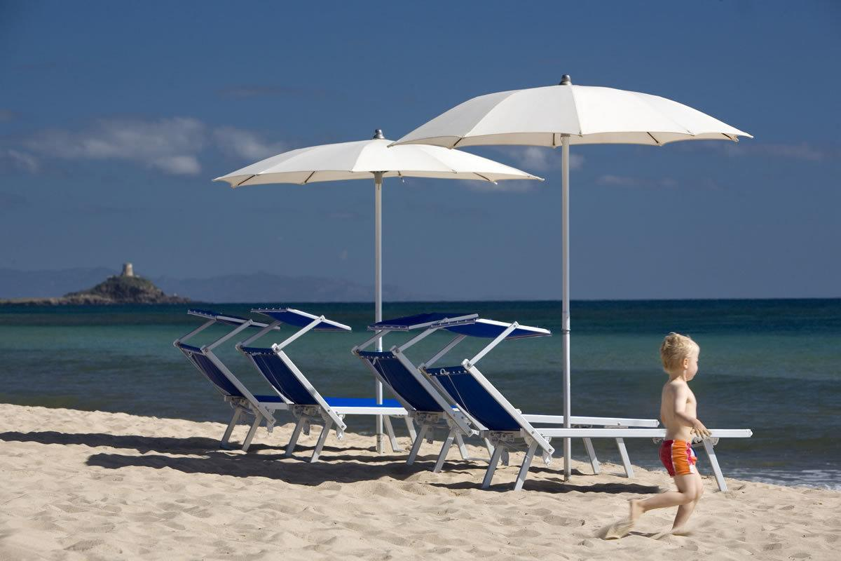 Idées et offres pour un pont du 2 juin 2019 à la mer et avec les enfants en Sardaigne. Hotel Flamingo