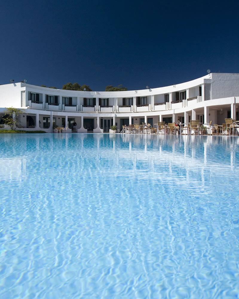 Piscina Panoramica Hotel Flamingo
